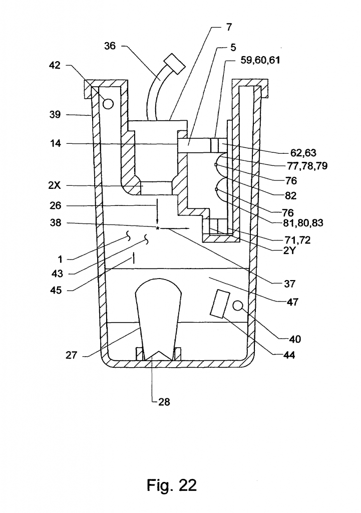 Figure 22 from Mitchell's patent US7659980 B1 for the EPA approved alternate test procedures.