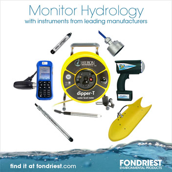 Monitor hydrology with instruments from leading manufacturers