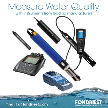 Measure water quality with instruments from leading manufacturers