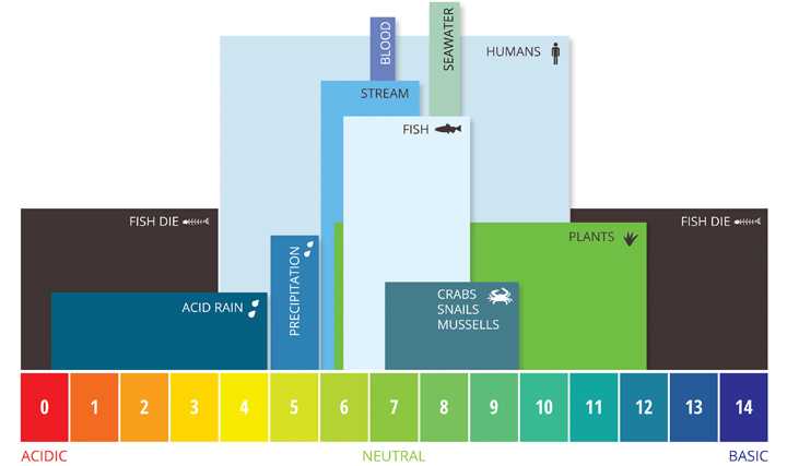 aquatic ph levels  the optimum ph levels for fish are from 6 5 to 9 0   outside of optimum ranges, organisms can become stressed or die