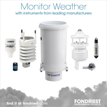 Monitor weather with instruments from leading manufacturers