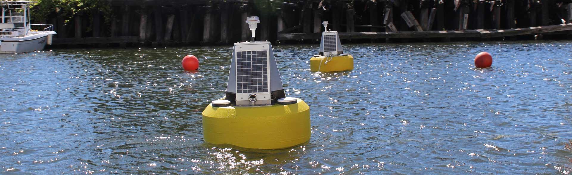 River monitoring buoy
