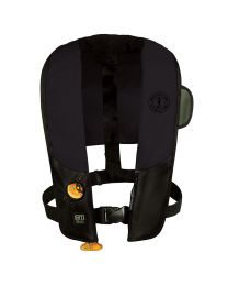 Mustang HIT Automatic Inflatable PFD - Law Enforcement Edition w/Customizable Back Flap  - Black