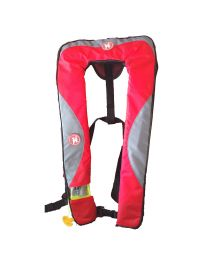 First Watch 24 Gram Inflatable PFD - Automatic - Red/Grey