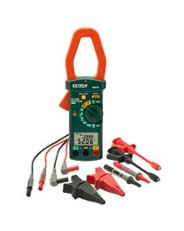 Extech Single Phase/3-Phase 1000A AC Power Clamp Meter Kit