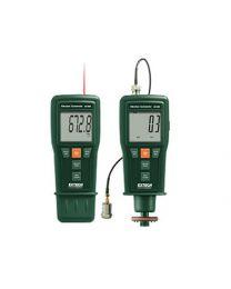 Extech 461880 Vibration Meter + Laser Combination Tachometer