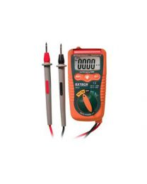 Extech Mini Pocket Multimeter with Non-Contact Voltage Detector