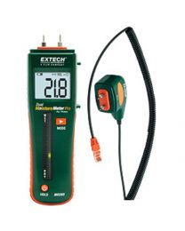 Extech Combination Pin/Pinless Moisture Meter with Remote Pin Probe