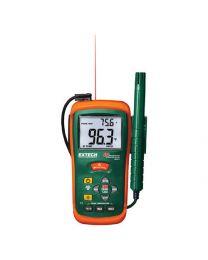 Extech RH101 Hygro-Thermometer + IR Thermometer