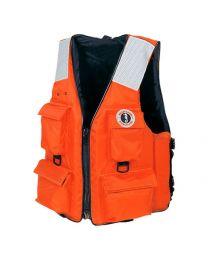 Mustang MV3128 T2 Orange Four Pocket Vests