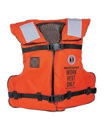 Mustang MV3192 Orange Work Vest