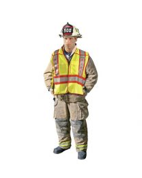 OccuNomix Reflective Fire Safety Vests