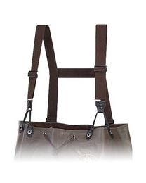 Pro Line Non-Insulated Rubber Chest Wader Suspenders