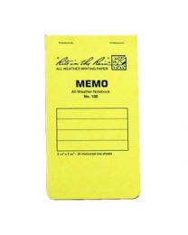 Rite In the Rain Stapled Memo Book