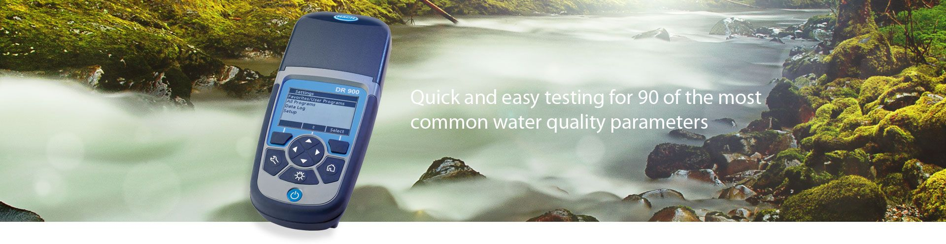 Hach DR 900 Multi-Parameter Handheld Colorimeter