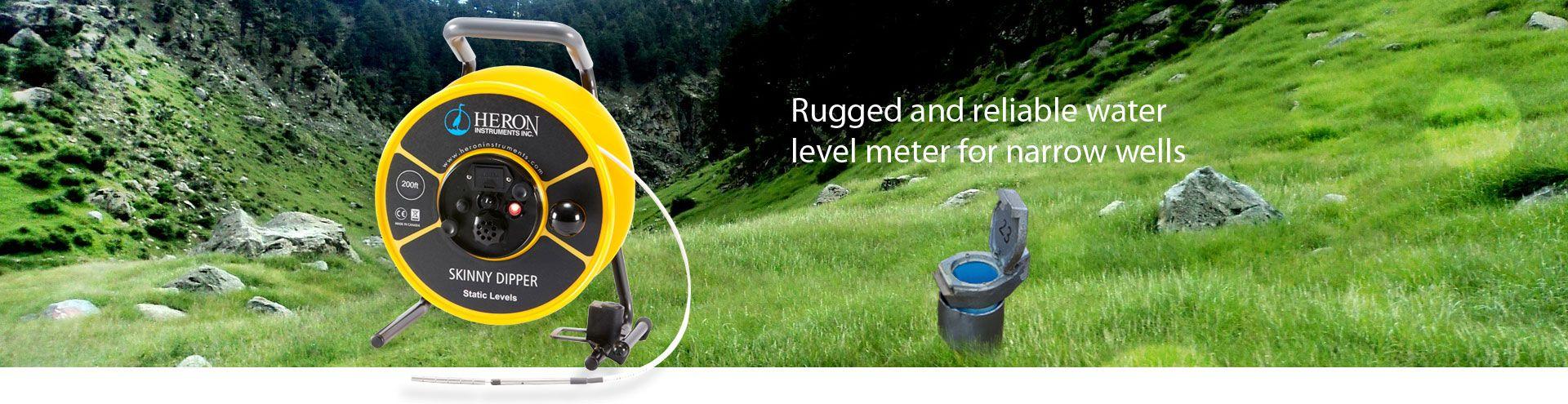 Heron SKINNY DIPPER Water Level Meters