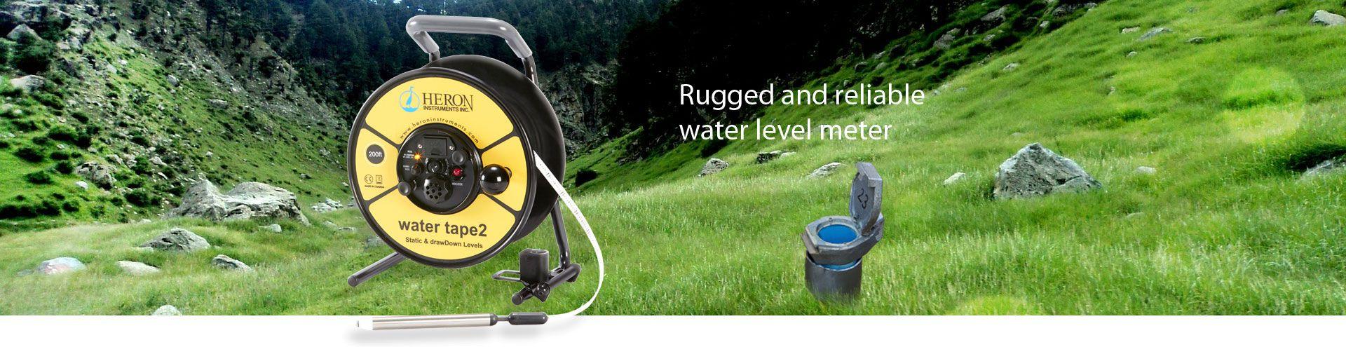 Heron water tape2 Water Level Meters