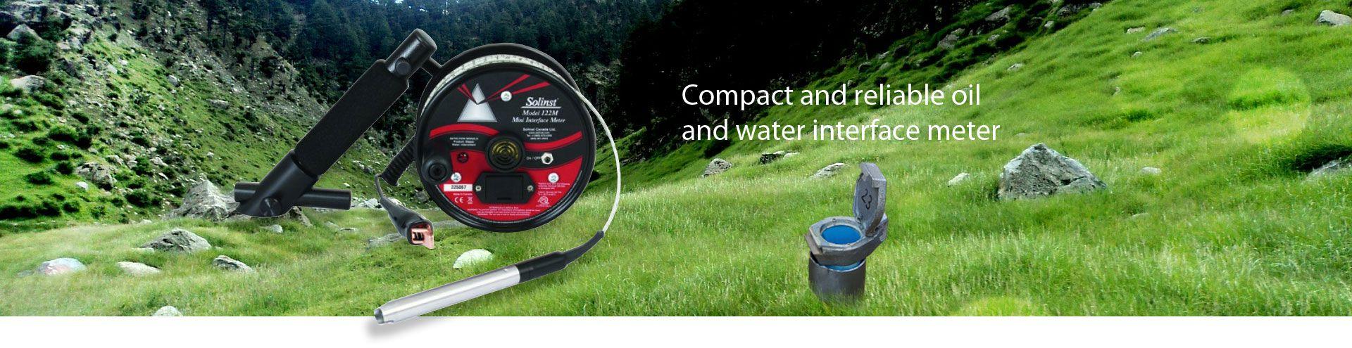 Solinst Model 122M Mini Oil/Water Interface Meters