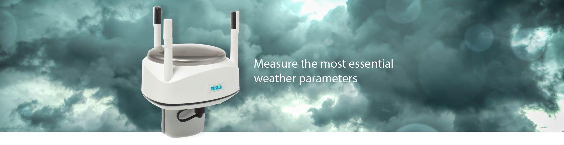 Vaisala WXT533 Rainfall & Wind Sensor