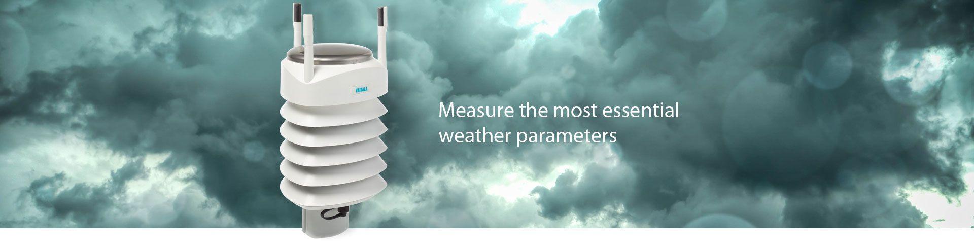 Vaisala WXT536 Multi-Parameter Weather Sensor