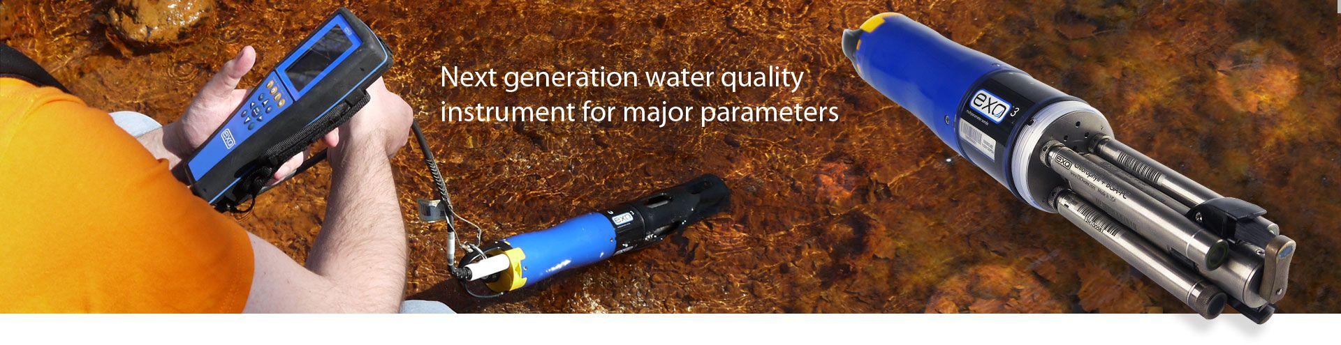 EXO3 Water Quality Sonde Rental
