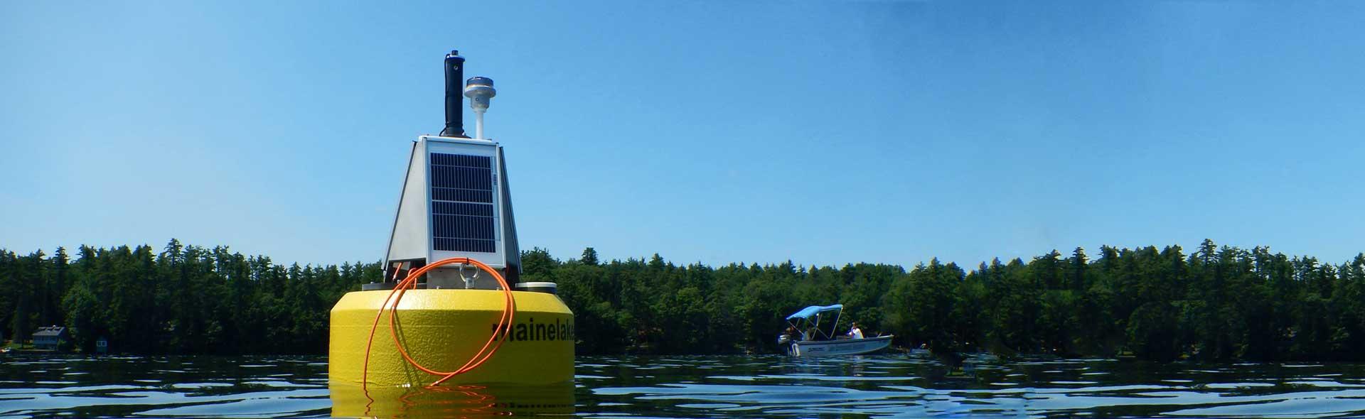 Lake monitoring buoy