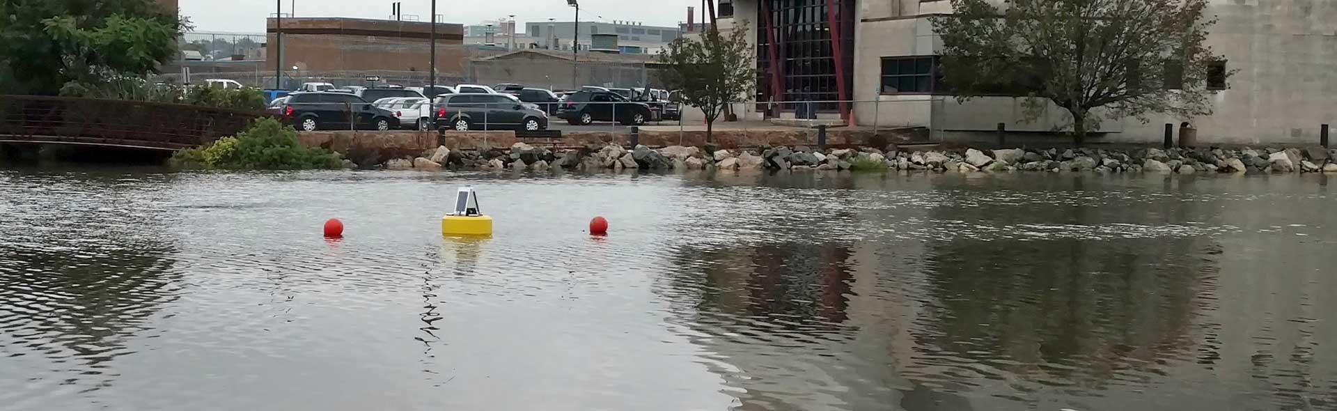 Source water monitoring