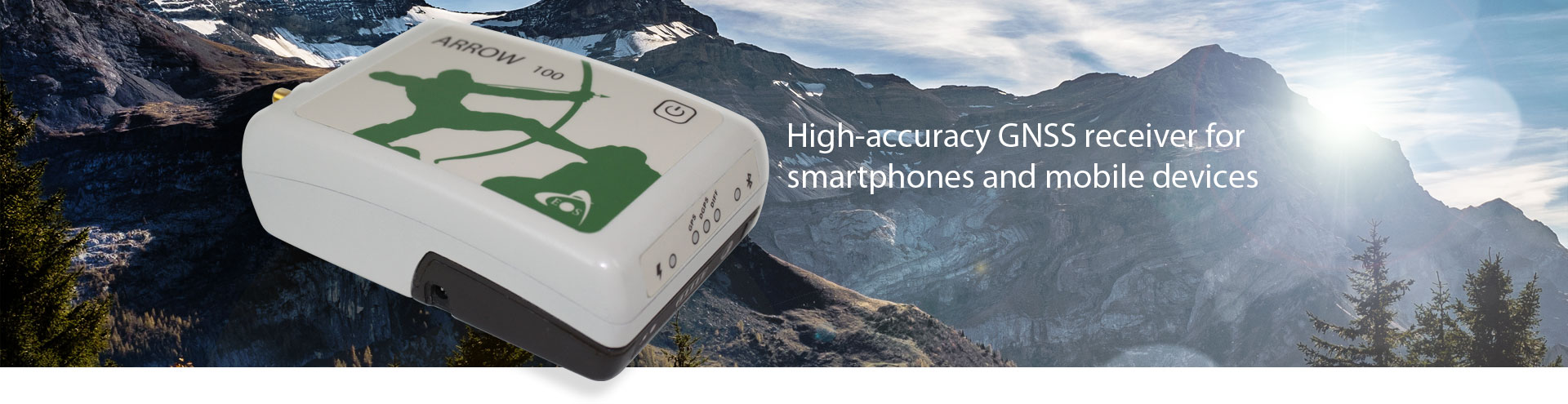 High accuracy GNSS receiver for smartphones and mobile devices