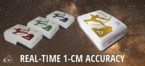 Real-time 1cm accuracy