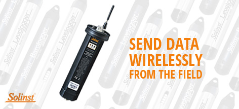 Send data wirelessly from the field
