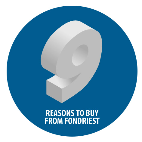 9 Reasons To Buy From Fondriest