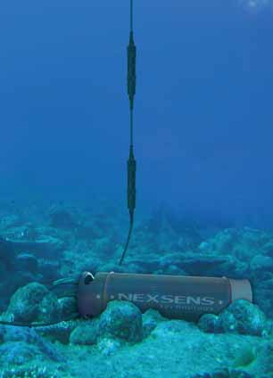 With this submersible data logger, it's possible to bottom-deploy temperature strings, water quality sensors, underwater PAR sensors, and more.