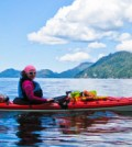 kayak lady