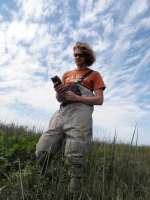 USGS coastal marsh data collection