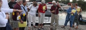 Citizen Lake Awareness and Monitoring volunteers
