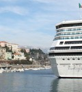 Cruise ship Costa Pacifica docked in the Port Savona