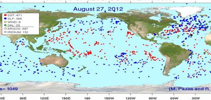 Ocean drifter array