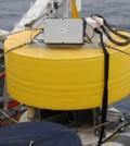 A crew deploys an Environmental Sample Processor as part of the Monterey Bay Aquarium Research Institute CANON project (Credit: Alba Marina Cobo Viveros)