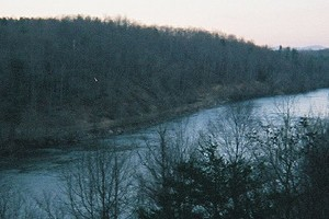 The French Broad River near Asheville, N.C. is among the water bodies discovered to harbor high levels of coal ash contaminants (Credit: Calvin Webster, via Flickr)