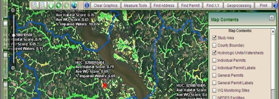 wetland conservation WetCAT wetland viewer web tool (Credit: Virginia Department of Environmental Quality)
