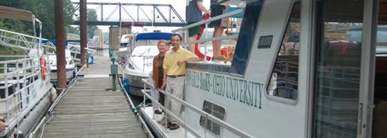 Boat of Knowledge (Credit: Ohio University)