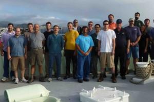 The SPURS team (Credit: NASA)