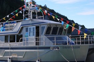 The R/V David Folger (Credit: Middlebury College)