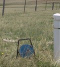 A monitoring well in Dawson County, Mont. that was part of the state's pilot program for the National Ground Water Monitoring Network (Credit: Clarence Schwartz, Montana Bureau of Mines and Geology)