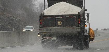 A truck spreading salt in Kentucky (Credit: J.C. Burns, via Flickr)