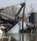 Train derailment in Paulsboro, N.J. (Credit: U.S. Coast Guard)