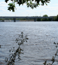 The Mississippi River at St. Cloud (Credit: Rob Evans, by Flickr)
