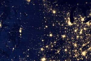 U.S. city lights captured by the Suomi NPP satellite (Credit: NASA)