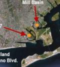 The locations of supplemental monitors (Credit: NY DEC)