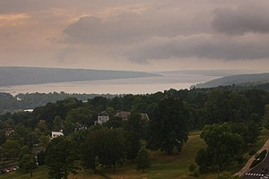 Cayuga Lake as seen from the Cornell campus (Credit: solarnu, via Flickr)